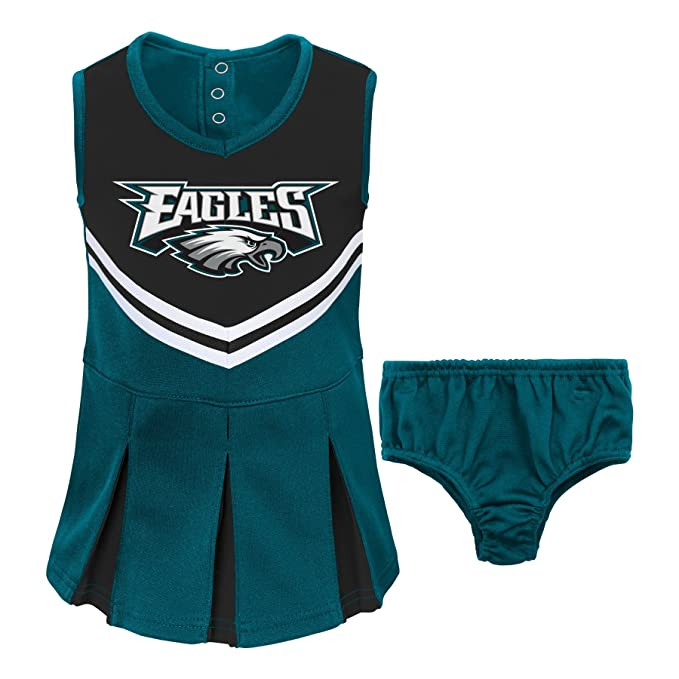 new arrival 07abb 4fccf Amazon.com: NFL Philadelphia Eagles Girl's Toddler Two Piece ...