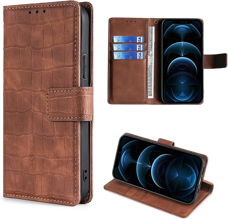 HUAYIJIE GKFGEY Flip Funda para LeEco Le 3 Funda Carcasa Case Cover [marrón]