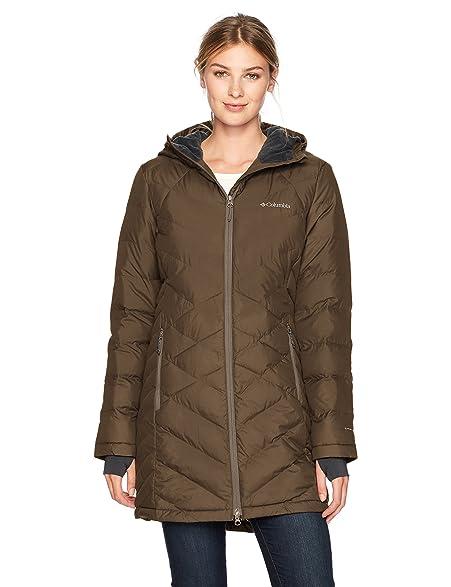 Amazon.com: Columbia Women's Heavenly Long Hooded Jacket: Sports ...