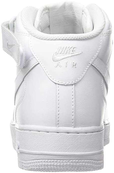 best service 4cf0f 07c7b Amazon.com   Nike Men s Air Force 1 Mid 07 Trainers   Basketball