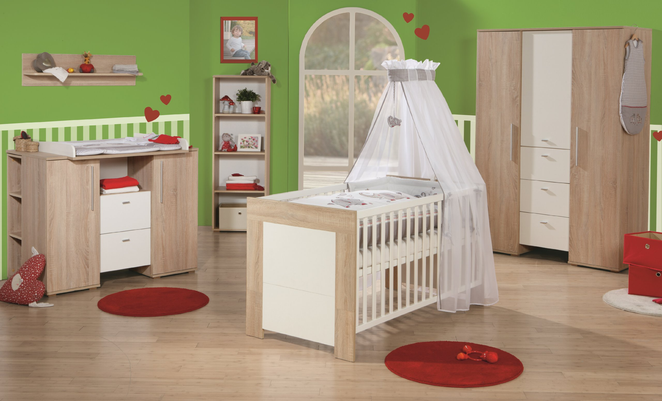 Verschiedene Möbel Für Kinderzimmer Galerie Von Roba 39301-6 Kinderzimmerset Daniel, 6-teilig