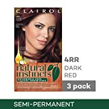 Clairol Natural Instincts Hair Color, Shade 4rr/20r Malaysian Cherry Dark Red, 3 Count