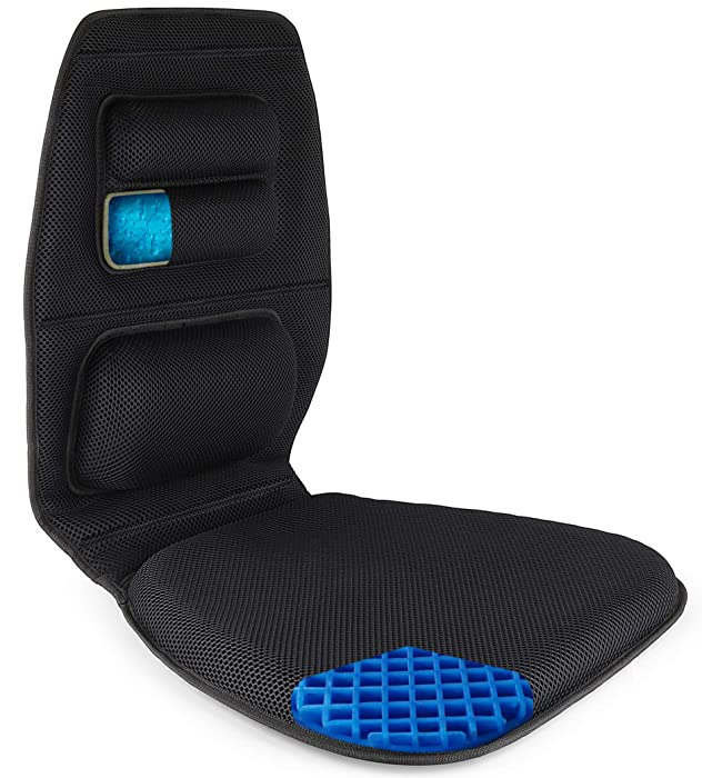 Top 10 Full Back Lumbar Support With Cooling Gel