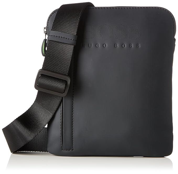 758718b2a9 BOSS Hyper_s Zip Env, Men's Shoulder Bag, Black, 1x24x20 cm (B x H T ...