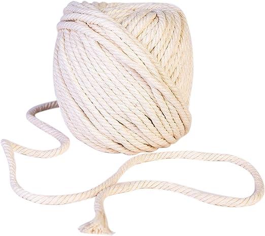 Hilo de algodón de hilo I CozofLuv macramé hilo de algodón hilo de ...