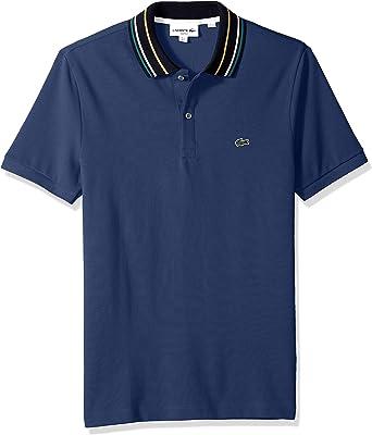 Lacoste Hombre PH9431-51 Manga Corta Camisa Polo - Azul - Small ...