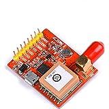 USB-Port-GPS Module red USB to GPS Converter usb gps module for Raspberry Pi 3 Model B/ Pi 2/ B+/A+ Module Includs CP2102USB Serial Chip Self-Supporting AGPS T module contains CP2102USB serial Chip 15 15 4 Support DGPS SBAS WAAS EGNOS MSAS GAGAN