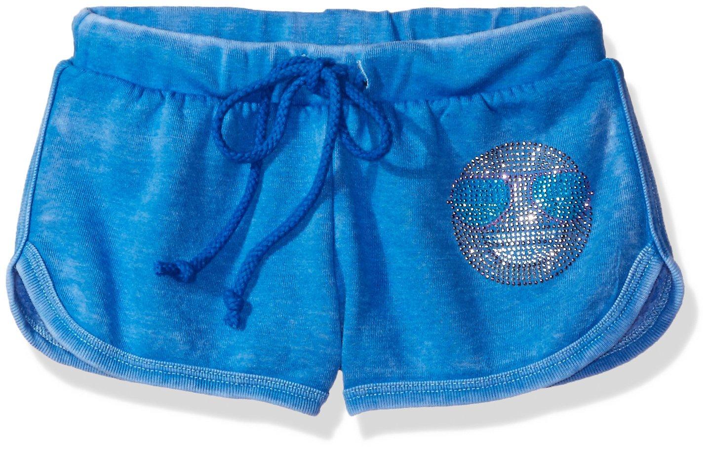 Gems & Jets Little Girls' Sunglass Smiley Shorts, Aquarius, 14