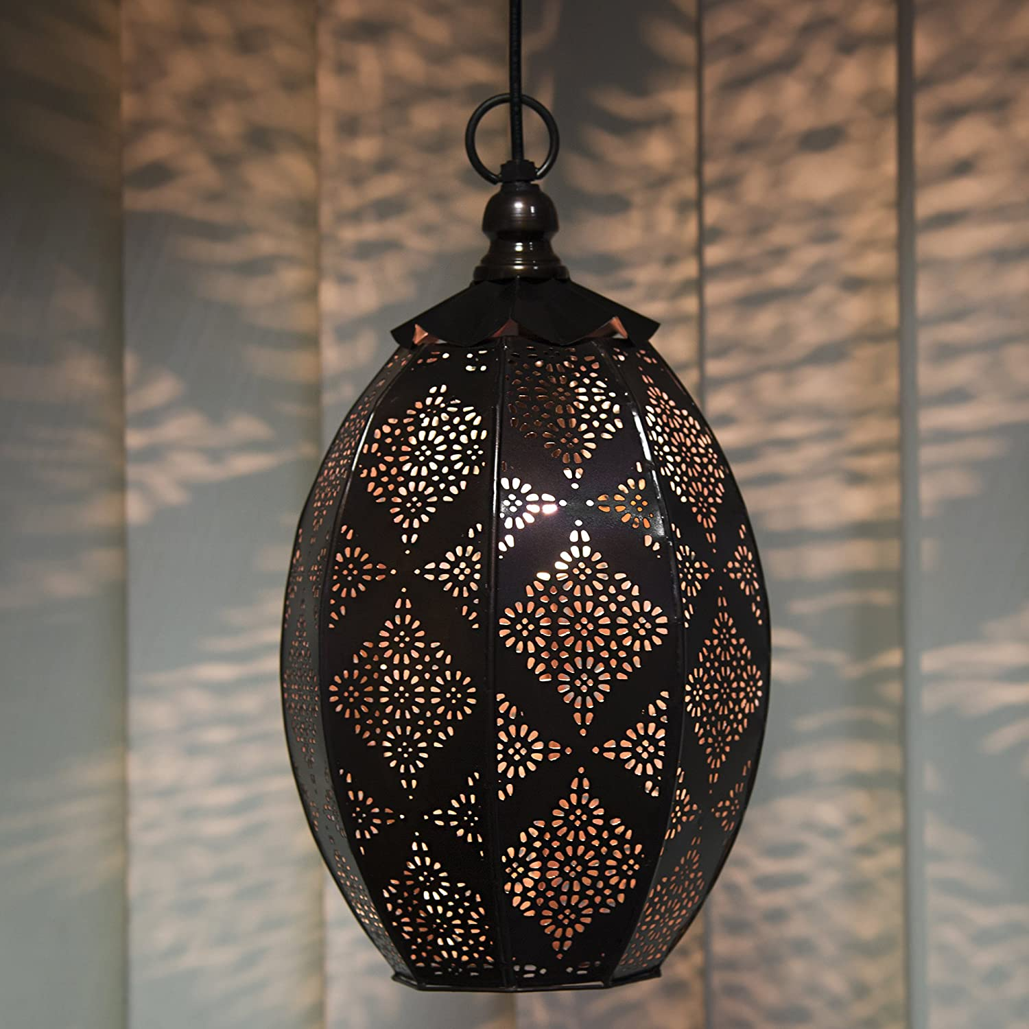 Buy Homesake Antique Oval Moroccan Pendant Light For Home Decoration Hanging Lamp Lights For Ceiling Jhumar Lighting For Home Vintage Wall Hanging Decorative Items For Living Room Bedroom Home Decor Items