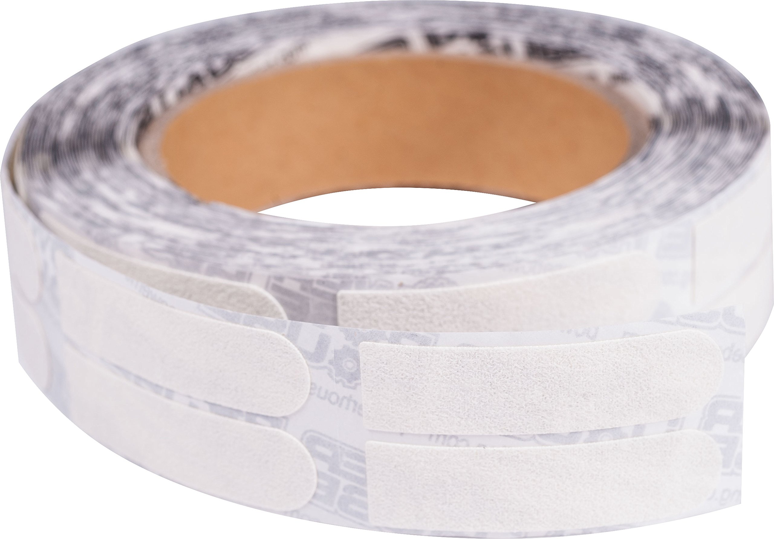 Ebonite Premium Bowling Tape- 1/2 Inch White Roll of 500 Pieces