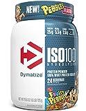 Dymatize ISO100 Hydrolyzed Protein Powder, 100% Whey Isolate Protein, 25g of Protein, 5.5g BCAAs, Gluten Free, Fast…