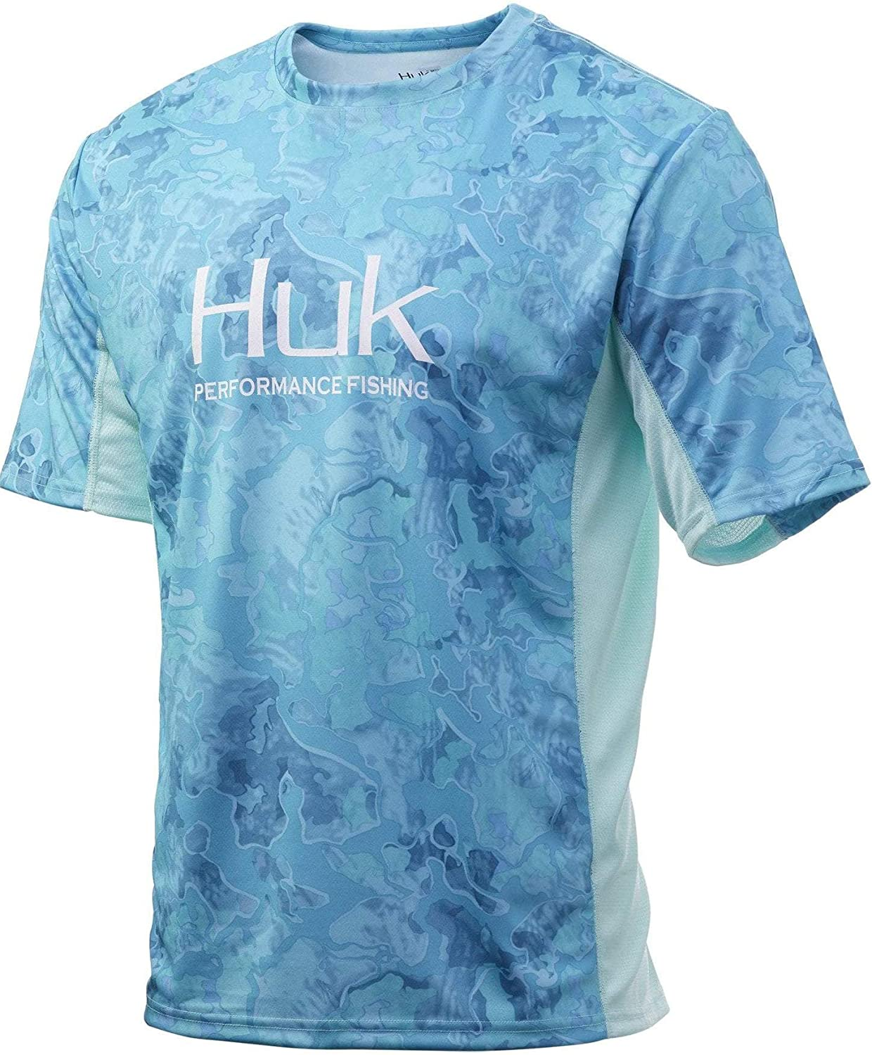 HUK Men's Icon X Camo Performance Fishing Clearance SALE! Limited time! Shirt Short-Sleeve Super beauty product restock quality top