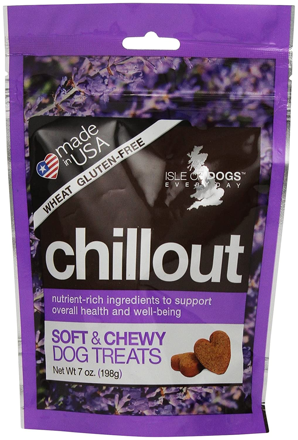 Isle of Dogs Chill Out Soft Chew Dog Treat, 7-Ounce