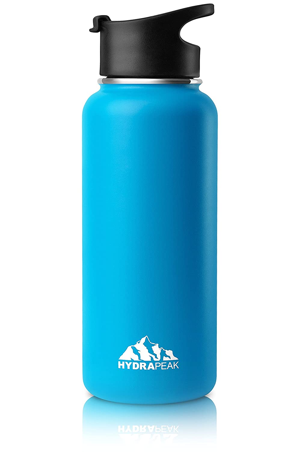 73ace5a680 Hydrapeak Wide Mouth Vacuum Insulated Stainless Steel Water Bottle.:  Amazon.co.uk: Sports & Outdoors