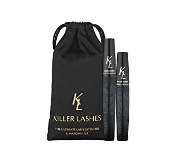 dfc0bbd1c7c KL Killer Lashes Ultimate Fibre Lash Extender and Mascara | 9ml & 6ml Set |  3D