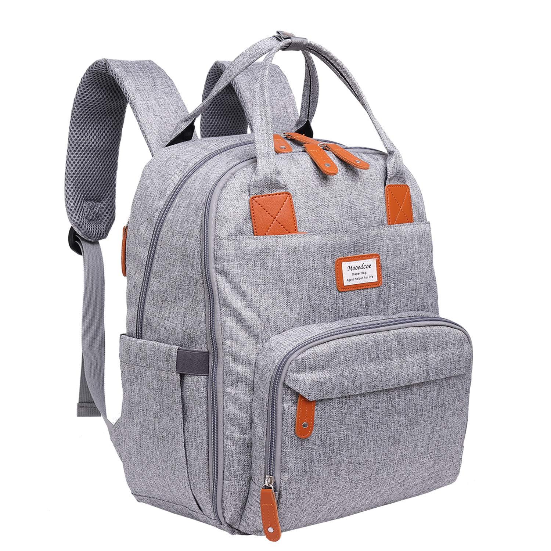 Diaper bag backpack Nanrui industrial multi-functional baby backpack diaper bag Black