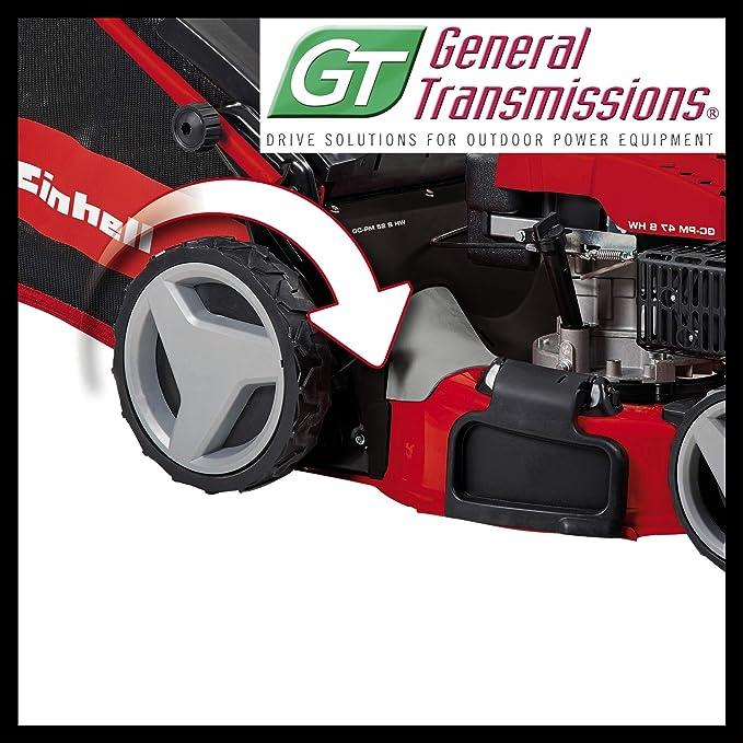 Einhell GC- PM 47 S HW - Cortacésped a gasolina (1800W, altura de ...