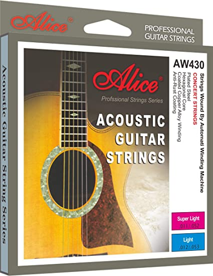 3dfa9a6bf12 Amazon.com  Alice AW430-L Acoustic Guitar Strings