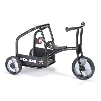 Winther Police Tricycle Kids Ride On: Toys & Games