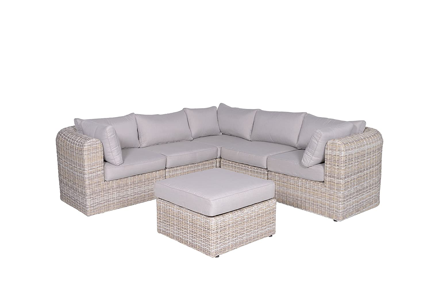 Garden Impressions Lounge Set Freiburg Passion Willow, 6-teilig ...