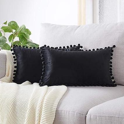 Amazon.com: Top Finel - Fundas de almohada decorativas de ...