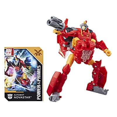 Transformers Generations Power of the Primes Deluxe Class Autobot Novastar: Toys & Games