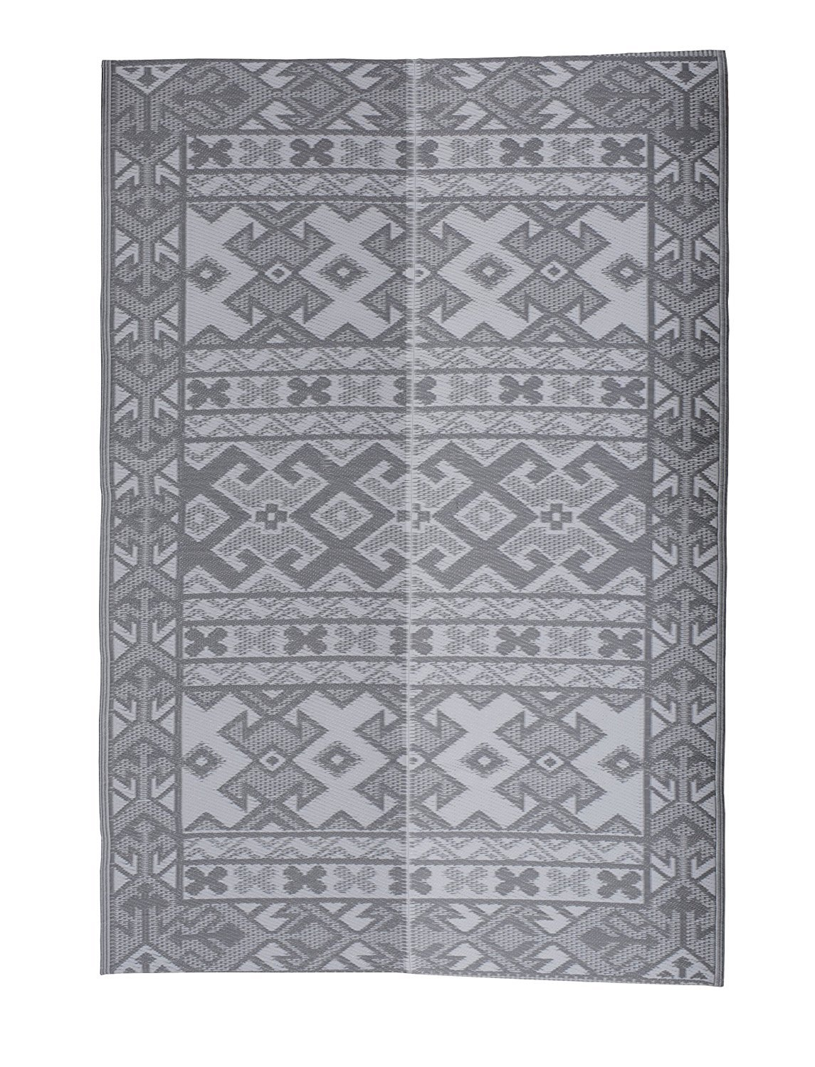 SAVON Southwest Rug, Outdoor Mat, Sleeping Mat, Camping Mat, Beach Mat, Gray Indoor Carpet