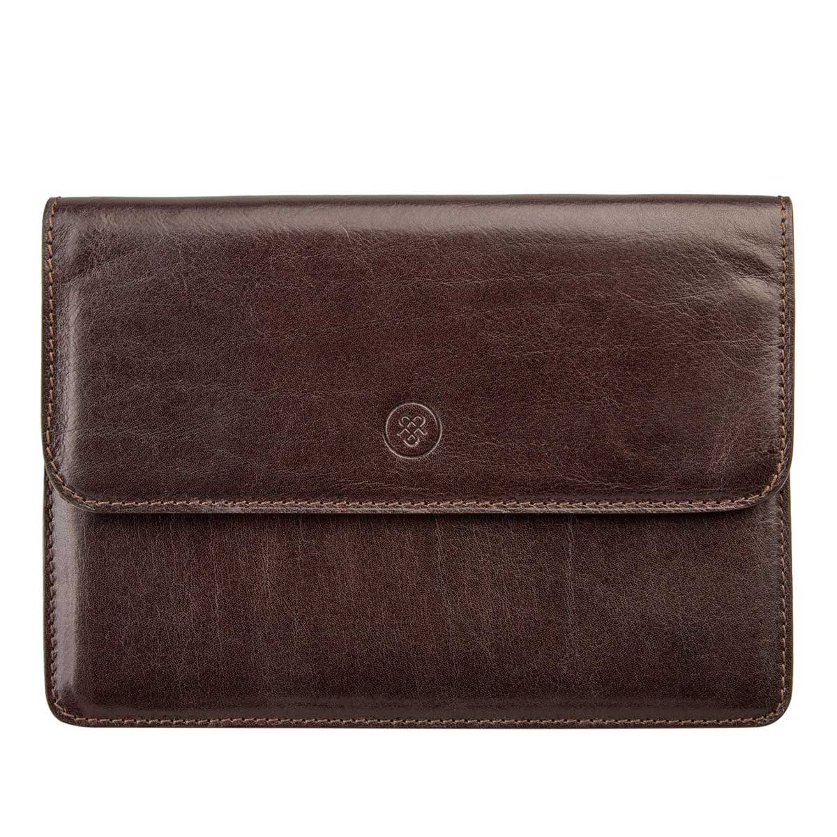 f6ad4d37642a Amazon.com | Maxwell Scott Personalized Luxury Brown Leather Travel ...