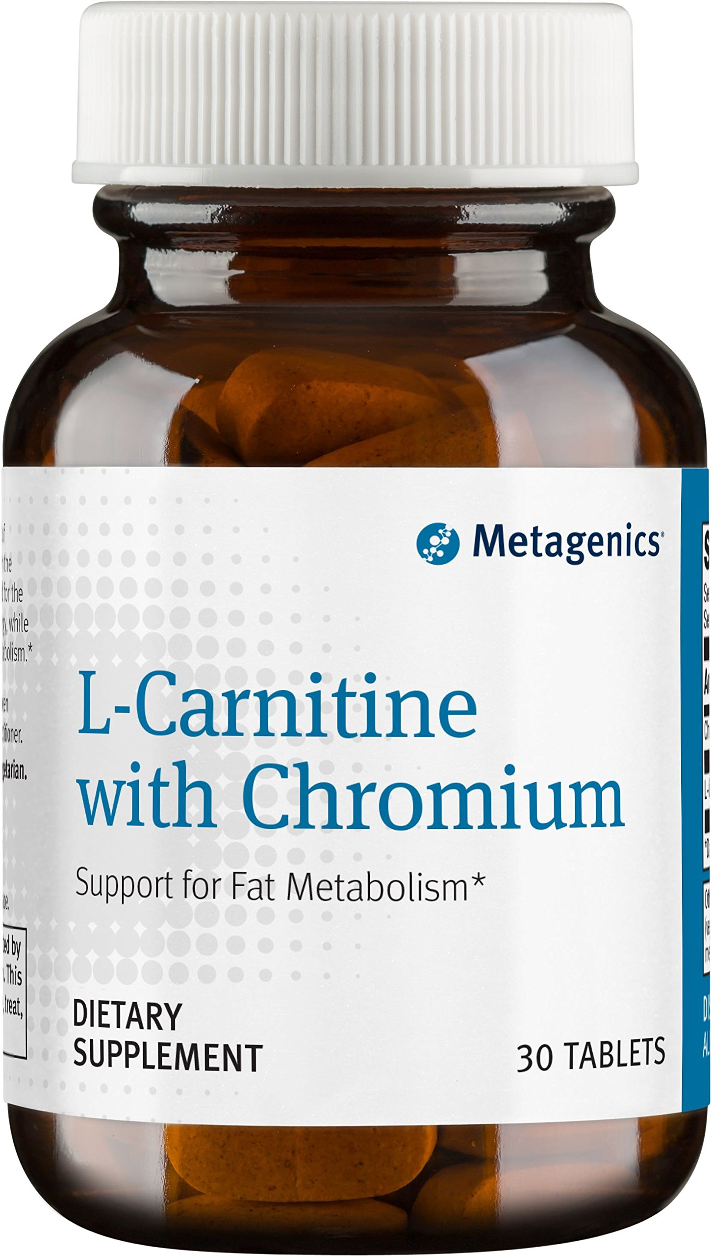 Metagenics - L-Carnitine with Chromium, 30 Count by Metagenics