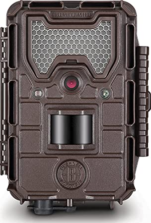 Bushnell 14MP Trophy Cam HD Aggressor Low Glow Trail Camera, Brown by Bushnell Spy Cameras at amazon