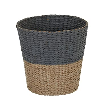 Household Essentials ML-6620 Cattail and Paper Waste Basket, Two Tone 2