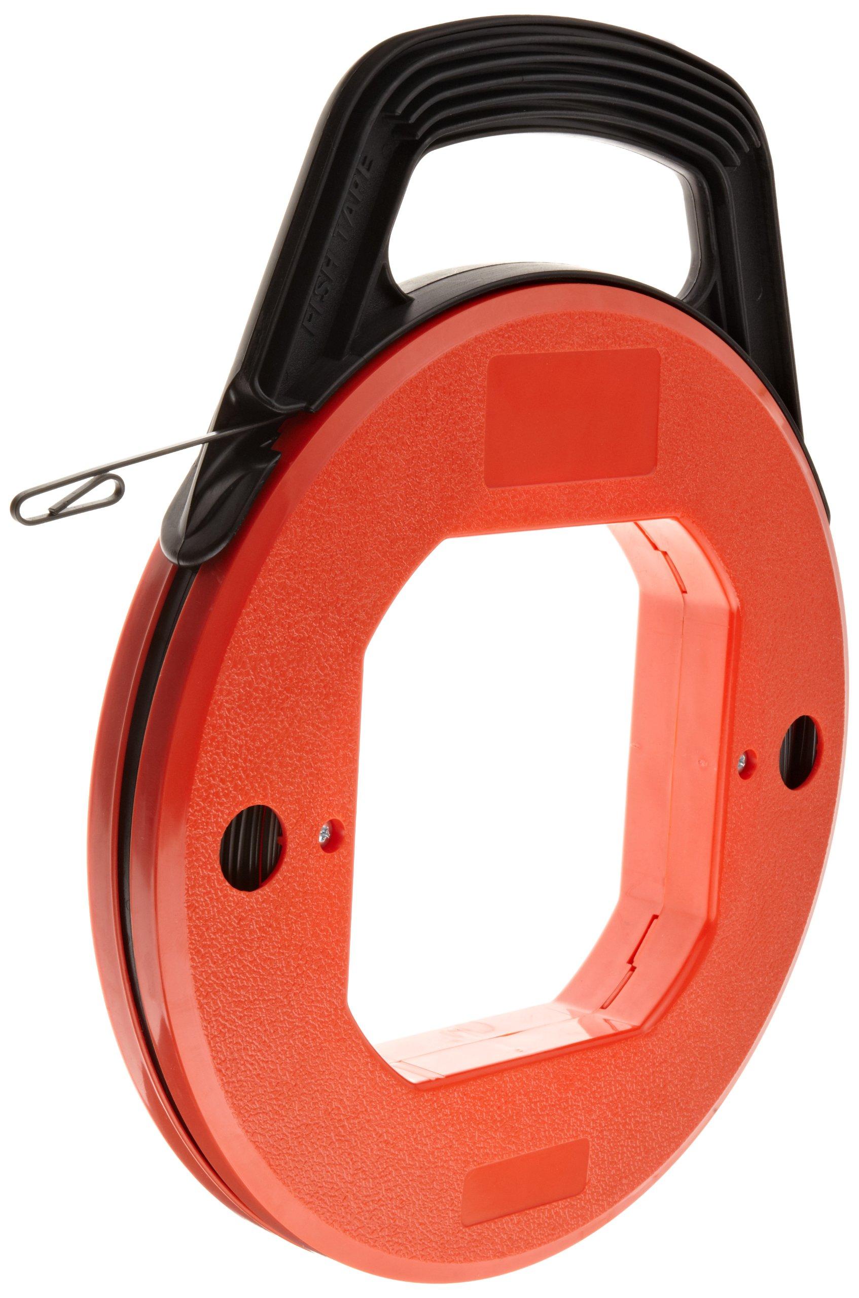 Morris Products 52244 Steel Fishtape, 1/8'' X 1/16'' Fishtape Size, 200ft Length