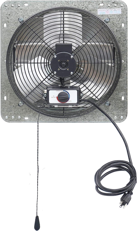Details about  /Spartan Electric 14/'/' Attic Roof Fan Vent 1400