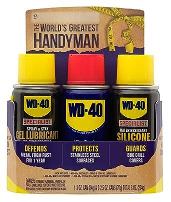 Amazon.com: WD-40 30054 Holiday Trio Handyman Pack de 3 ...