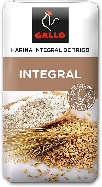 Gallo - Harina integral de trigo - 1kg: Amazon.es: Alimentación y bebidas