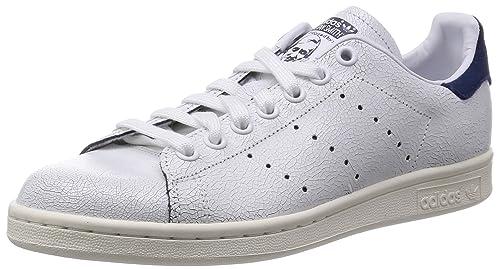 adidas stans smith donna 41 1%2F3  Adidas Donna Sneakers Basse M19587 Stan Smith W 41 1-3 Bianco-Blu ...