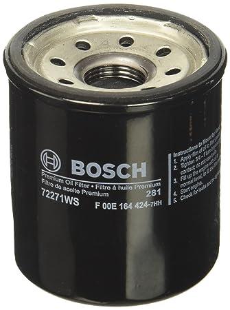 Amazon.com: Bosch Workshop Filtro de aceite para motor ...