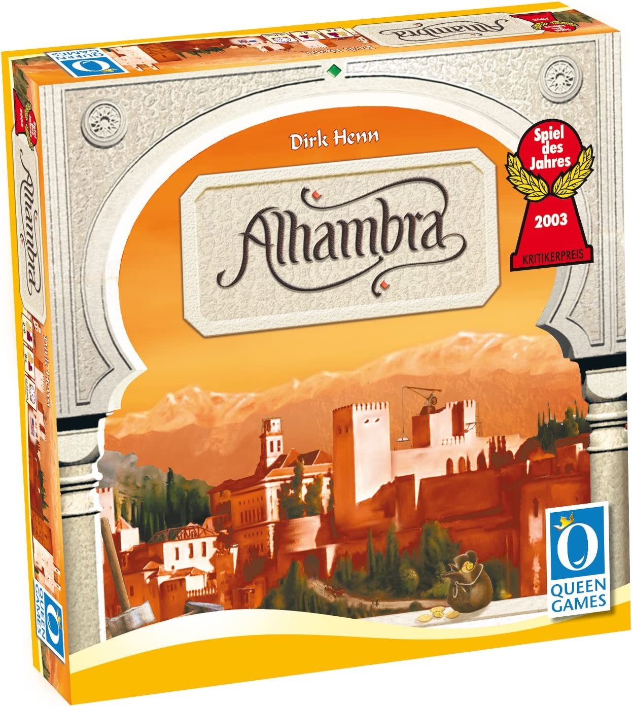 Queen Games Alhambra Junta Juego: Amazon.es: Juguetes y juegos