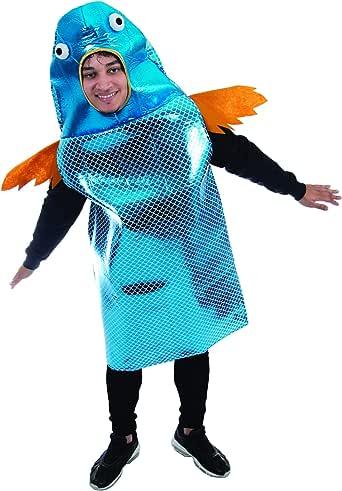 Funky Fish Disfraz de Halloween – Divertido Disfraz de Animal ...