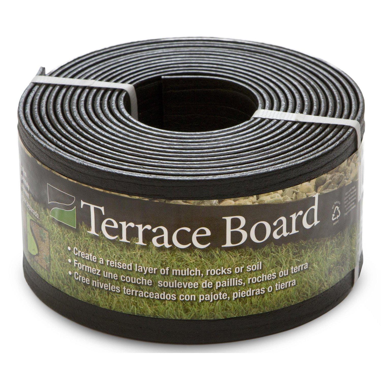 "Master Mark Pl Prod 94420 Terrace Board Landscape EDG Ing 4"" X 20 ', Black"
