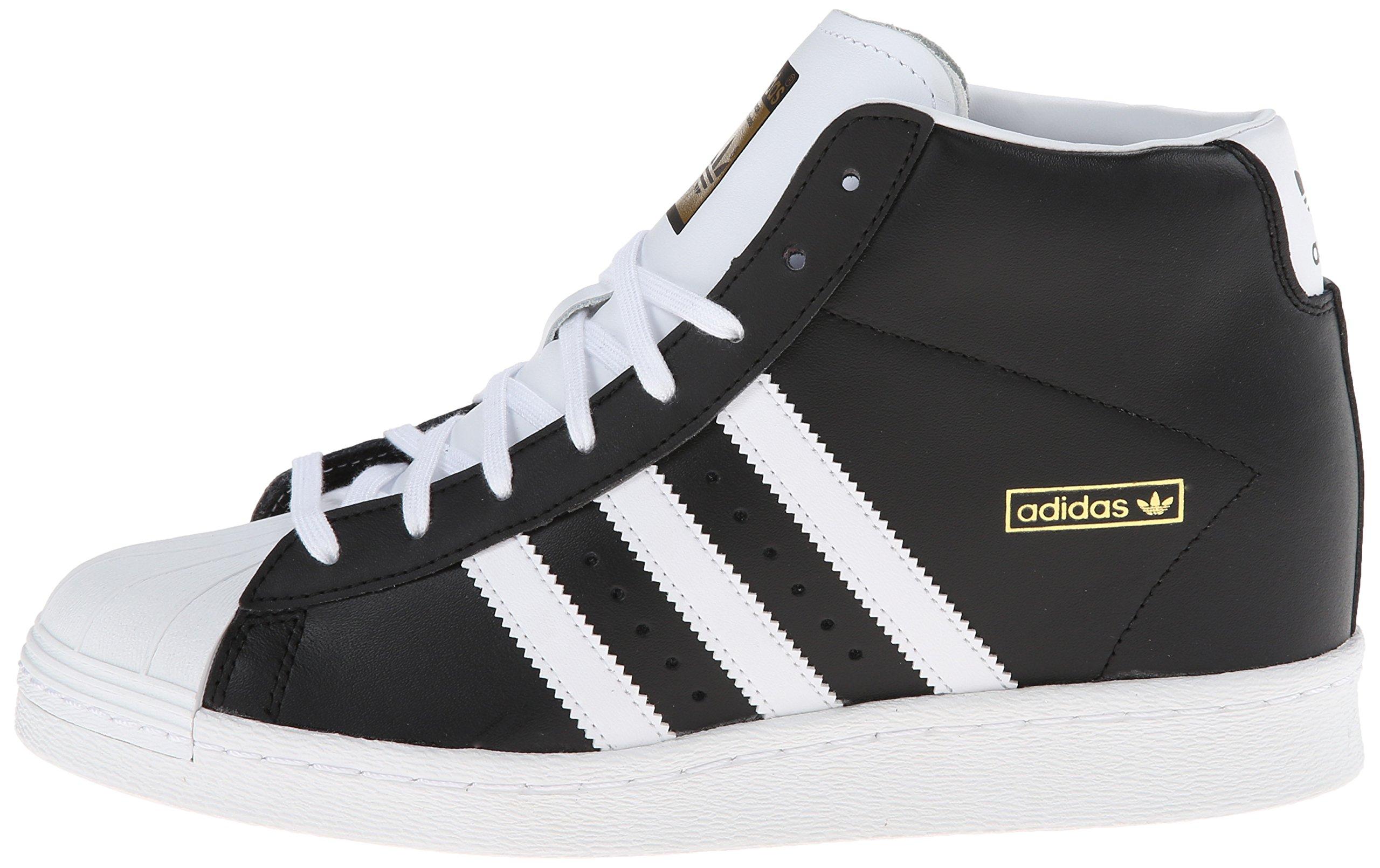 7ad814515 Adidas Originals Superstar Concealed Wedge Black High Top Trainers ...
