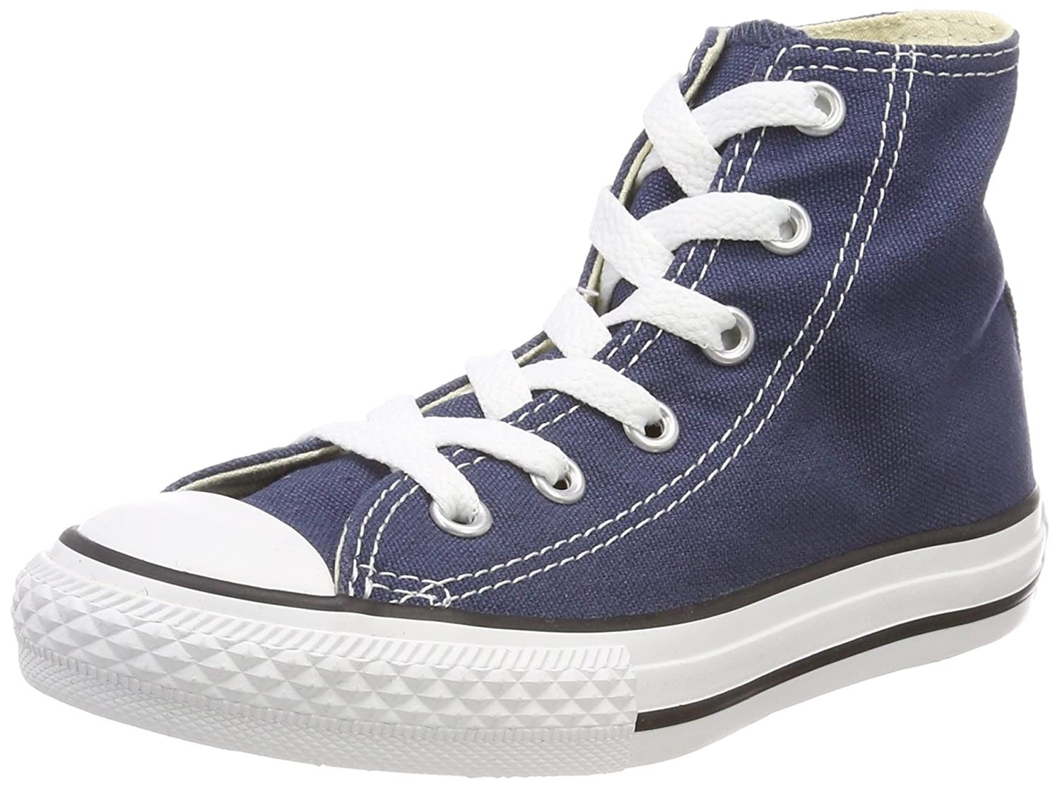 Converse Kids' Chuck Taylor All Star Core Hi (Little) B0786BXQNV 33 EU|Blue