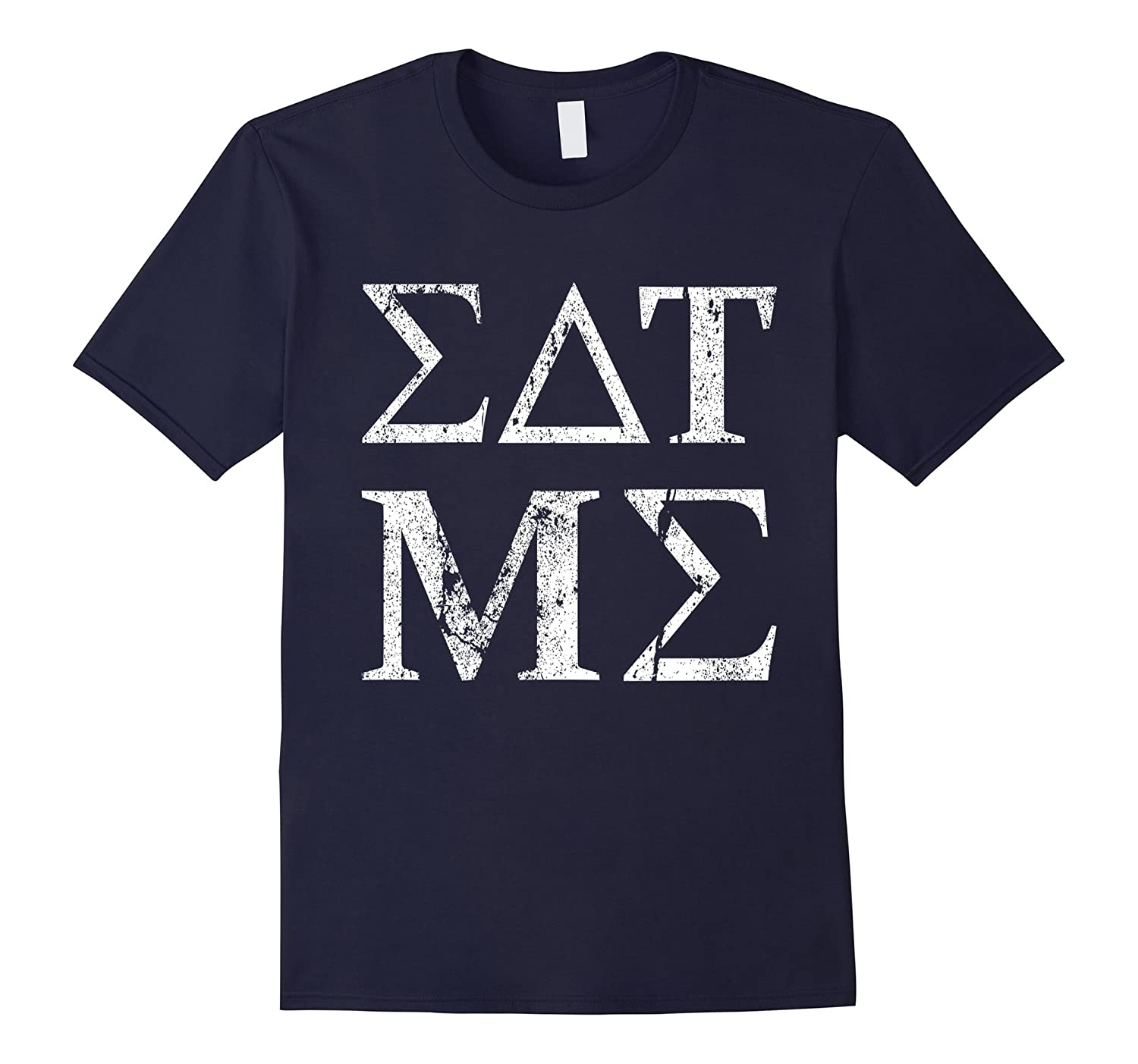 Eat Me Greek Alphabet Funny Insult T-Shirt-CD