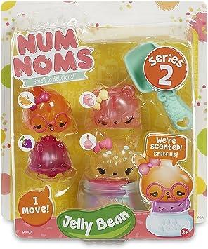 Num Noms Series 2 - Scented 4-Pack - Jelly Bean , color/modelo surtido: Amazon.es: Juguetes y juegos