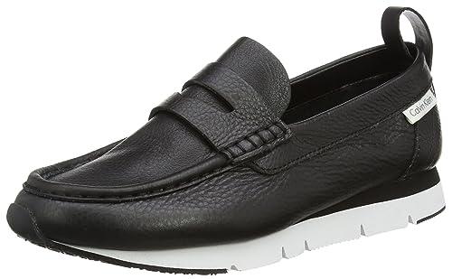 Calvin Klein Sonora Pebble Calf, Mocasines para Mujer, Negro, 43 EU: Amazon.es: Zapatos y complementos