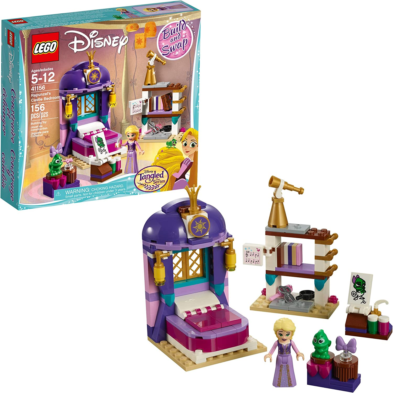 Amazon Com Lego Disney Princess 6213312 Rapunzel S Bedroom 41156 Castle Toys Games