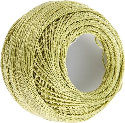 DMC 116 8 – 3348 Pearl Bolas de Hilo de algodón, luz Amarillo ...