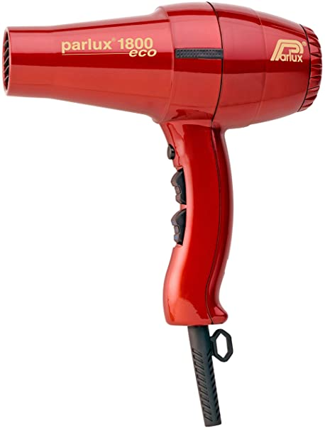 Parlux Hair Dryer 1800 - Secador de pelo, color rojo