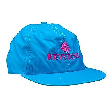 Amazon.com  Vintage Ski Resort Hat - Keystone Waterproof Turquoise ... 462d3394d30