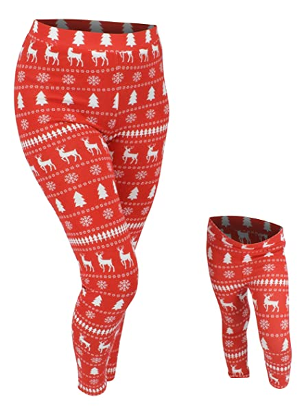 ca36afcbb9 ... pajamas outfits · unique baby ub girls winter print matching family  holiday leggingsunique baby ub girls winter print matching ...